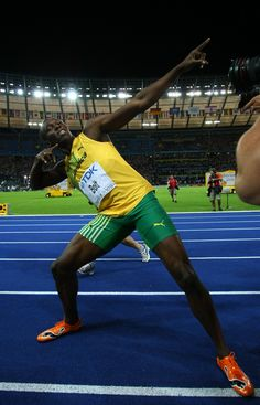 Usain Bolt - to fast for yaaaa!