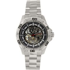 Invicta Men's Specialty 15228 Silver Stainless-Steel Swiss Quartz Watch