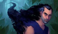 Man in Black by Neanderthal-Jam