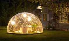 This Backyard Igloo Assembles in Under an Hour