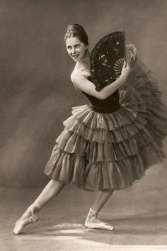 Olga Moiseyeva as Kitri in the Kirov's Don Quixote, 1964.