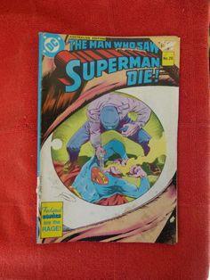 VINTAGE DC COMICS MAN WHO SAW SUPERMAN DIE NO. 20 AUS EDITION - http://books.goshoppins.com/comics-graphic-novels/vintage-dc-comics-man-who-saw-superman-die-no-20-aus-edition/