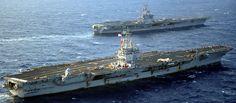 USS Enterprise CVN-65 Aircraft Carrier US Navy Us Navy Aircraft, Navy Aircraft Carrier, Tiger Cruise, American Aircraft Carriers, Naval Station Norfolk, Uss Enterprise Cvn 65, Subic Bay, Steam Turbine, World Cruise