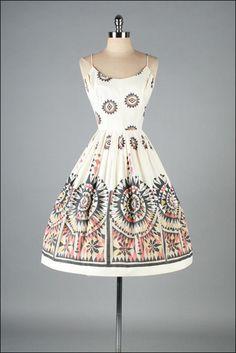 R E S E R V E D /// Vintage 1950s Dress by Mill Street Vintage