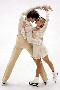 Elena Berezhnaya and Anton Sikharulidze in the 2002 Winter Olympics