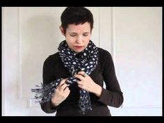 Wearing Scarves Parisian style