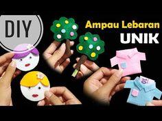 DIY    Membuat Angpau Lebaran Tanpa Jahit   Unik   Eid Money Envelope   No Sew ! - YouTube