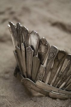 Happy At Home: A Hankering For . . . Vintage Flatware Crafting