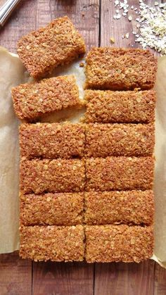 coconut and ginger flapjacks