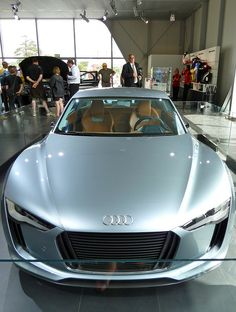 Audi hybrid concept car.