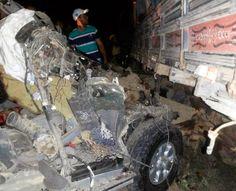 Observador Independente: Várzea da Roça:Carro bate em caminhão, mata três e...