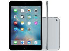 iPad Mini 4 Apple 128GB Cinza Tela 7,9 Retina com as melhores condições você encontra no site do Magazine Luiza. Confira!