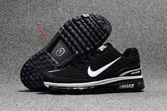 2b027b45ff5639 Nike NIKE AIR MAX 360 Dispensing Nanotechnology KPU Material Men and women  Shoes Black and White