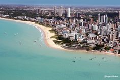 João Pessoa, belíssima, uma das cidades mais verde do mundo!!!