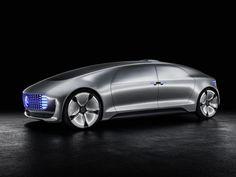 El #Mercedes-Benz F 015 #Luxury in Motion Concept fue presentado en el #CES #autos #coches #cars