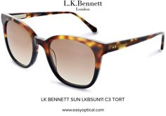 LK BENNETT SUN LKBSUN11 C3 TORT Lk Bennett, Bond Street, Eyewear, Sun, London, Luxury, Stylish, Design, Glasses