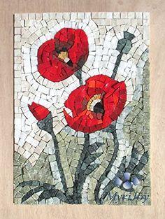 Pretty, handmade mosaic art #ad