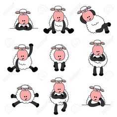 cartoons cute pictures of lambs - Google Search