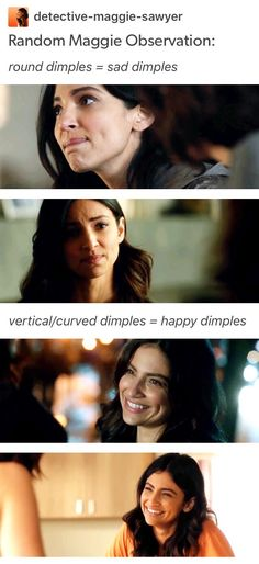 Omg so cute - Maggie Sawyer - Floriana Lima - Supergirl - dimples - Sanvers