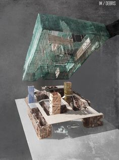 YAP IM-Debris Competition Entry / Yalin Architectural Design