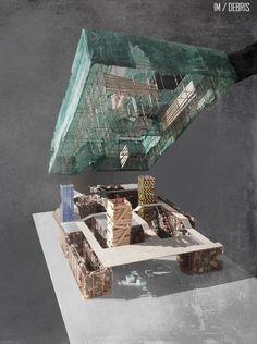 YAP IM-Debris Competition Entry / Yalin Architectural Design