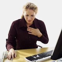 #Women are more likely to die of a #heart #attack than either #breast #cancer or lung #cancer.