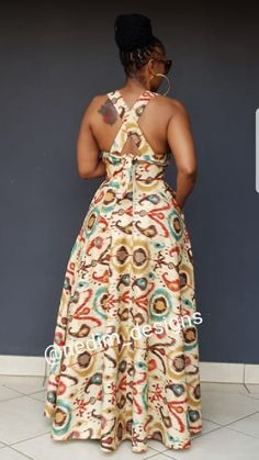 Maxi dresses @nedim _designs +27829652653 African Dresses For Kids, African Maxi Dresses, Latest African Fashion Dresses, African Print Fashion, African Attire, African Wear, African Style, Beautiful Casual Dresses, African Print Dress Designs