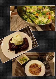 Dinner ready by Chef Travis