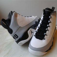 air jordan 9 barons baseball 04 Air Jordan 9 Retro Barons Inspired by Michael Jordans First Retirement Jordan Ones, Air Jordan 9, Jordan 9 Retro, Bb Shoes, Me Too Shoes, Men Street Look, All Jordans, Nike Kicks, Popular Sneakers