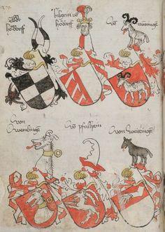 Wappenbuch des St. Galler Abtes Ulrich Rösch Heidelberg · 15. Jahrhundert Cod. Sang. 1084  Folio 271