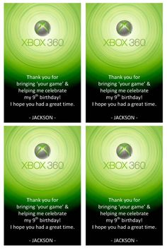 1000 images about happy birthday shelton on pinterest for Decoration xbox one