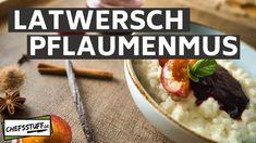 Pflaumenmus (Latwersch) einkochen - Rezept von Chefsstuff.de Mashed Potatoes, Beef, Ethnic Recipes, Food, Oven, Food Food, Whipped Potatoes, Meat, Smash Potatoes