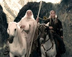 Frodo and Sam are trekking to Mordor to destroy the One Ring of Power while Gimli, Legolas and Aragorn search for the orc-captured Merry and Pippin. All along, nefarious wizard Saruman awaits the Fellowship members at the Orthanc Tower in Isengard. Gandalf, Legolas And Aragorn, Elijah Wood, Fellowship Of The Ring, Lord Of The Rings, Warrior Movie, Merry And Pippin, Avengers Film, Moving To New Zealand