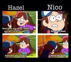 Nico and Hazel. PJO