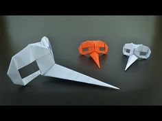 Origami: Dr. Parnassus Mask (Riccardo Foschi) - Instructions in English (BR) - YouTube