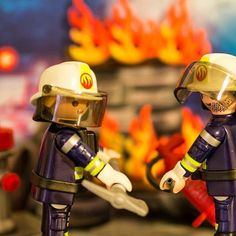 #firefighters#playmobil#fire#red#toys