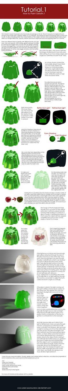 Tutorial.1 [How to Paint Gelatin.1] by SaxonSurokov on DeviantArt