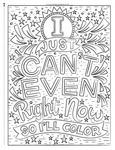 Coping With Trump Coloring Book Love Coloring Pages, Printable Adult Coloring Pages, Coloring Books, Coloring Sheets, Coloring Stuff, Color Quotes, Doodle Coloring, Art Therapy, Stress