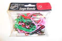 NHL New Jersey Devils Logo Bandz by Forever Collectibles. $4.89. These colorful Rubber Band Bracelets are made of non-toxic silicone and die molded in many different colors and fun shapes. Because they are made of 100% silicone they will return to their original shape and size when you take them off the item they're holding.