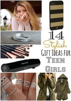 14 Stylish Gift Ideas for Teen Girls -- Tatertots and Jello for eBay. spon