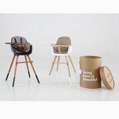 Chaise haute bébé design en vente ici : http://www.range-ta-chambre.com/19-chaise-pouf-design-enfant