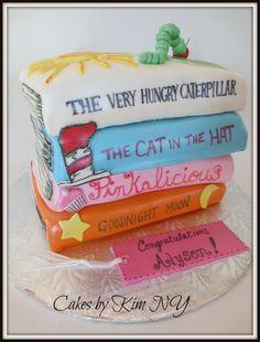 Children's Books Cake