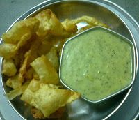 Enjoy mouth watering #cholafali #chutney recipe by tasty gujarati food blog, and make spicy and delicious chutney for cholafali at home.