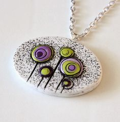 Pendant by MAGICAL CLAY | Polymer Clay Planet