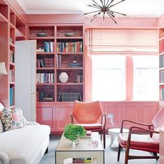 A Study Of Pink - 20 Pink Rooms We LOVE - Photos