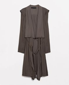 ZARA - COLLECTION AW14 - DESTRUCTURED TRENCH