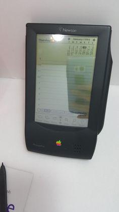 #Vintage Original Apple Newton #Messagepad 100 Model No.H1000 w/Box & Memory Card  #Apple