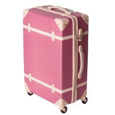Travelhouse Hard Shell ABS Retro Vintage Luggage 4 wheels Suitcase Travel  (24