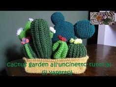 cactus garden all'uncinetto tutorial (il vasetto)