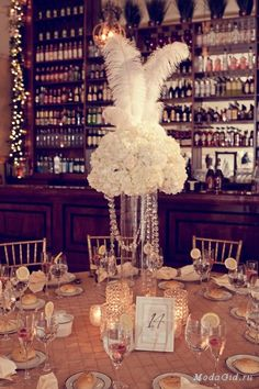 Elaborate 1940s Vintage Castle Wedding Ostrich Feathers, Glam, 1950s ...